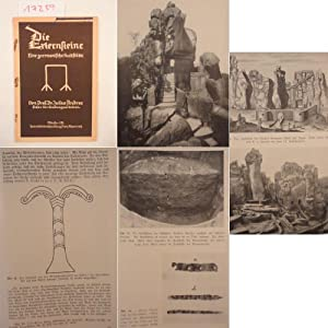 Die Externsteine, eine germanische Kultstätte. Mit 48 Abbildungen: Andree, Julius: