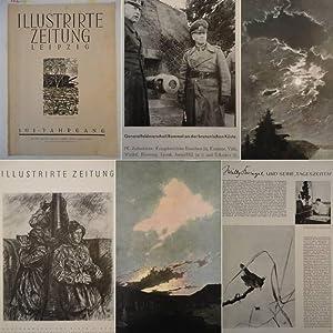 """Illustrirte Zeitung Leipzig Nr.5037 Mai 1944, mitsamt dem Gemäldezyklus """"Die 4 ..."""