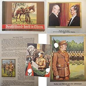 """Deutschland Hoch in Ehren. Von Hermann dem Cherusker bis zum """"Ja"""" am 12. November 1933: ..."""