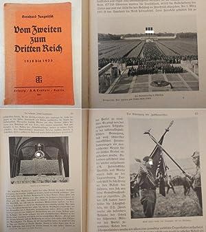 Vom Zweiten zum Dritten Reich 1918-1935, mit 22 Abbildungen: Bernhard Jungnitsch (Mittelschulrektor...