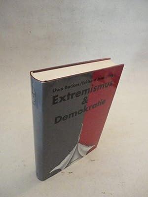 Jahrbuch Extremismus und Demokratie (E & D) 13. Jahrgang 2001 * mit O r i g i n a l - S c h u t...