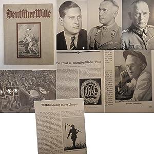 """Deutscher Wille. Jahrbuch 1935, herausgegeben im Auftrage der Vereinigung """"Deutscher Wille&..."""