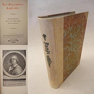 Der Erzzauberer Cagliostro. Die Dokumente über ihn nebst 12 Bildbeigaben * H A L B P E R G A M...