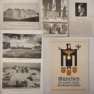 """München die Kunst-Stadt des Neuen Reiches. Sonderdruck aus der Heimatzeitschrift """"Das ..."""