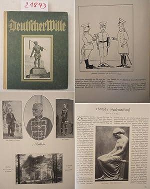 """Deutscher Wille. Jahrbuch 1930, herausgegeben im Auftrage des Kuratoriums """"Deutscher Wille&..."""