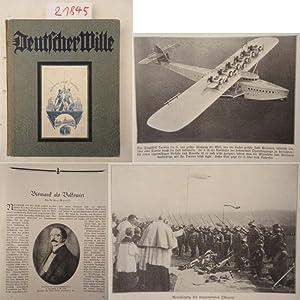 """Deutscher Wille. Jahrbuch 1931, herausgegeben im Auftrage des Kuratoriums """"Deutscher Wille&..."""