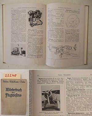 Wörterbuch des Flugwesens. Mit 483 Abbildungen: Anders (Assessor an