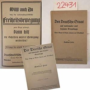 Der Deutsche Staat auf nationaler und sozialer: Gottfried Feder: