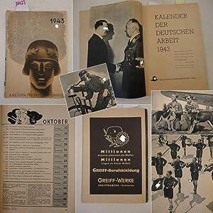 Kalender der Deutschen Arbeit 1943: Presseamt der Deutschen