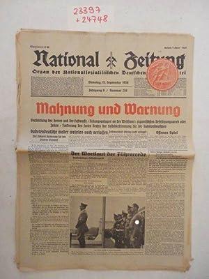 National Zeitung Organ Der Nationalsozialistischen Deutschen