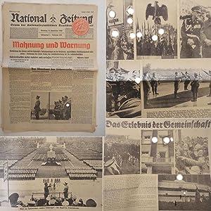 National-Zeitung. Organ der Nationalsozialistischen Deutschen Arbeiterpartei. Dienstag,: National-Zeitung: