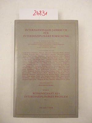 Internationales Jahrbuch für Interdisziplinäre Forschung. Wissenschaft als: Richard Schwarz (Herausgeber):