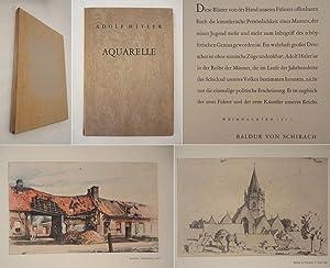 Adolf Hitler Aquarelle * seltene Weihnachts-Ausgabe mit: Adolf Hitler /
