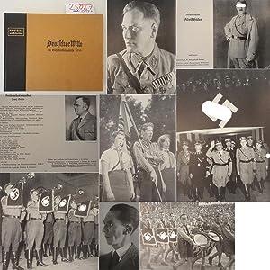 """Deutscher Wille im Entscheidungsjahr 1933. Herausgegeben im: Vereinigung """"Deutscher Wille"""""""