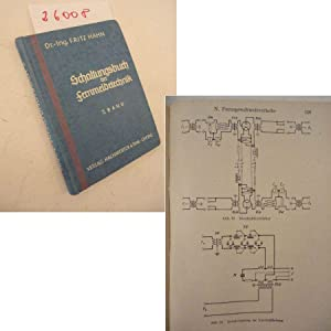 Schaltungsbuch der Fernmeldetechnik, II. Band: Fernsprech-, Telegrafen-: Dr.-Ing. Fritz Hahn: