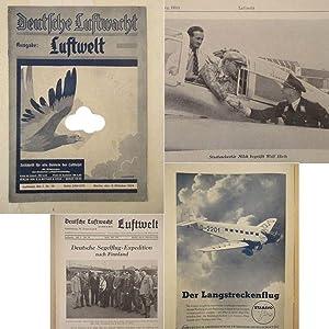 Deutsche Luftwacht. Ausgabe Luftwelt, Zeitschrift für alle: W. Angermund (Schriftleitung):