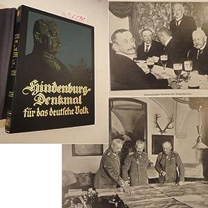 Hindenburg - Denkmal für das deutsche Volk.: Paul Lindenberg (Herausgeber):