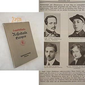 Rassenkunde Europas. Mit 20 Karten und 362: Hans F.K. Günther: