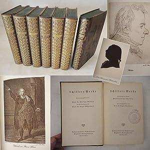 Schillers Werke. 14 Bände in sieben Büchern,: Friedrich von Schiller: