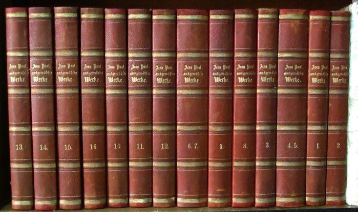 Ausgewählte Werke. 16 Bände in 14 Bänden: Jean Paul (Johann