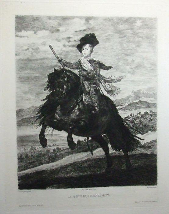 portrat zu pferd baltasar carlos von