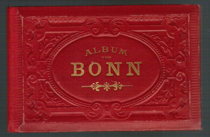 18-seitiges Leporello-Album in Photolithographie.: Album von Bonn.