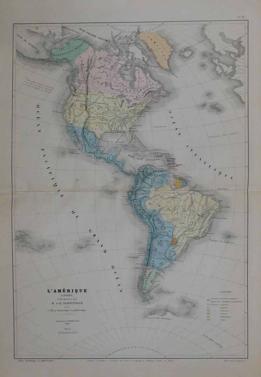 Karte Südamerika Und Nordamerika.Karte Von Nordamerika Kanada Und Südamerika