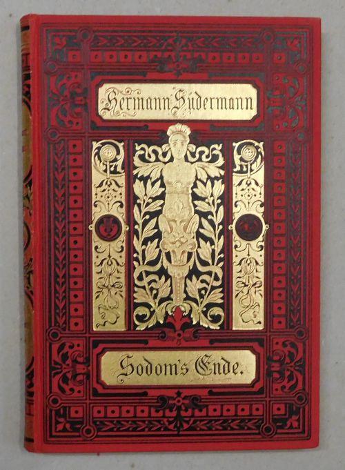 Sodoms Ende. Drama in fünf Akten. 27.: Sudermann, Hermann