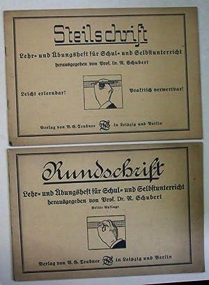 Rundschrift. Lehr- und Übungsheft für Schul- und: Schubert, R. (Hrsg.)