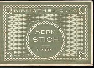Bibliothek D.M.C. Merk Stich (Merkstich / Merk-Stich).: Dollfus-Mieg & Cie
