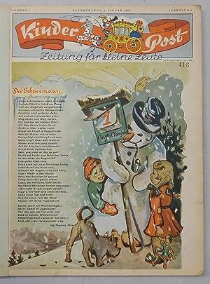 Kinder Post. Zeitung für kleine Leute. Jahrgang 4, 1950, Nr. 1-24.: Meine Kinderpost.