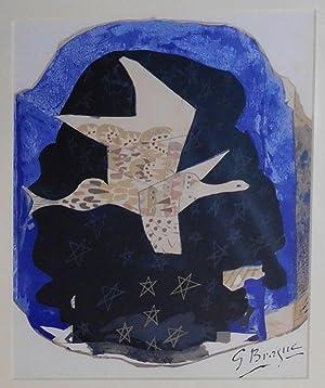 """Les etoiles. Titelblatt zu """"Derière le miroir"""".: Braque, Georges"""