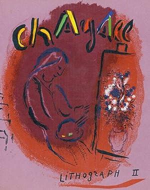 Umschlag zu Lithographe II. (Vor dem Gemälde).: Chagall, Marc