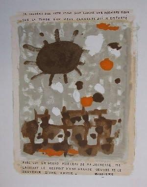Hommage à Georges Braque,: Bissière, Roger