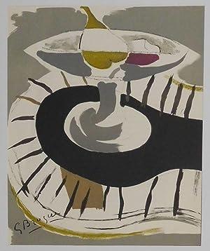 Compotier (Schale mit Obst).: Braque, Georges