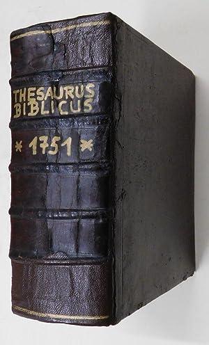 Thesaurus Biblicus Completus, Locupletissimus : Ex Ipsis: Merz, Philipp Paul