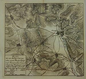 Plan des am 8ten Jan. 1794 zwischen: Bad Kreuznach