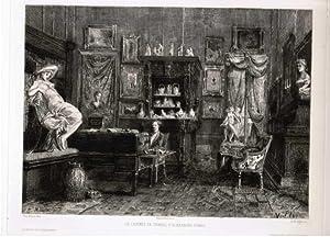 Le Cabinet de travail d Alexandre Dumas.: Dumas, Alexandre