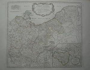 Partie Septentrionale du Cercle de Haute Saxe qui contient le Duche de Poméranie et le ...