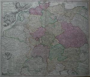 Imperium Romano-Germanicum in suos Circulos divisum.