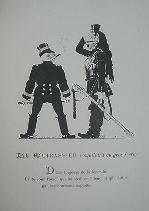 Nos militaires, par H. de Sta. Légendes de Léon Vanier.