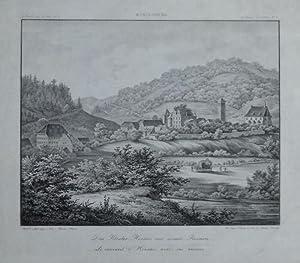"""Das Kloster Hirsau mit seinen Ruinen"""". Gesamtansicht."""