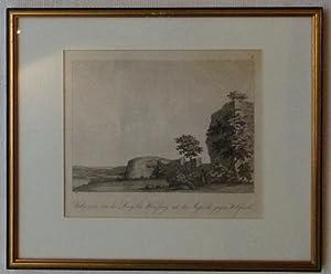 Uebereste der Burg bei Weinsperg mit der Aussicht gegen Wilspach.