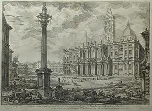 Veduta della Basilica di S.ta Maria Maggiore con le due Fabbriche laterali di detta Basilica. ...