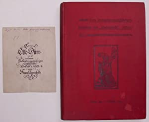 """Zum fünfundzwanzigjährigen Bestehen der """"Modenwelt"""". 1865-1890. Berlin, den 1. ..."""