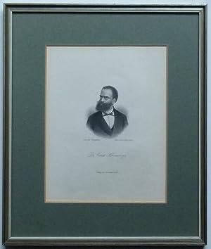 Brustbild. Bezeichnung unterhalb der Darstellung: Dr. Ernst Schweninger.: Schweninger, Ernst.