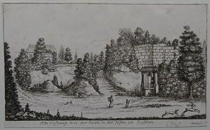 Alte Vestung wie der Ruin in der Nähe an zusehn.