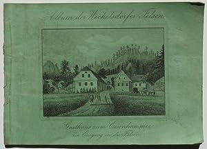 Beschreibung vom Felsenthal bei Weckelsdorf mit 13 Abbildungen in Stahlstich.