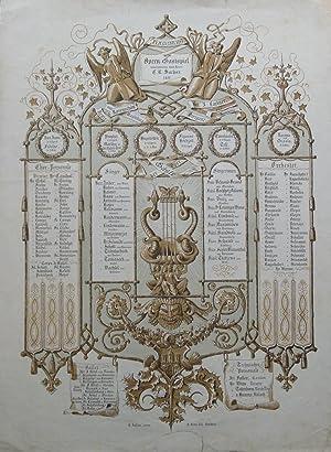 Opern-Gastspiel unternommen durch Herrn C. A. Sachse. 1855. Hamburg.