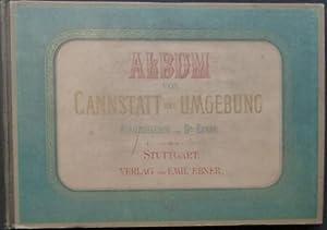 Album von Cannstatt und Umgebung. Deutsch und französisch.: Ebner, (Heinrich) (Herausgeber).
